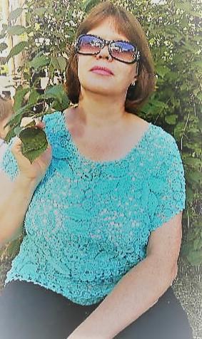 блуза - ирландское кружево