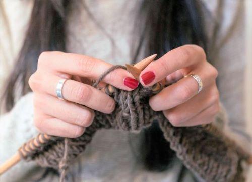 Основные методы вязания спицами