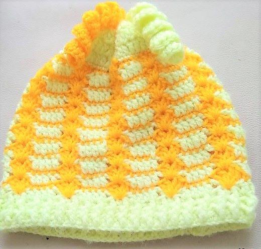 Вязание шапочки крючком с описанием